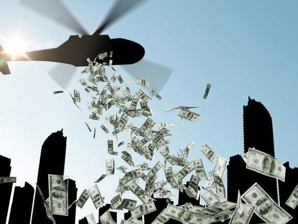 Hong Kong Embraces Helicopter Money - Govt Gives Every Adult Citizen HK$10,000