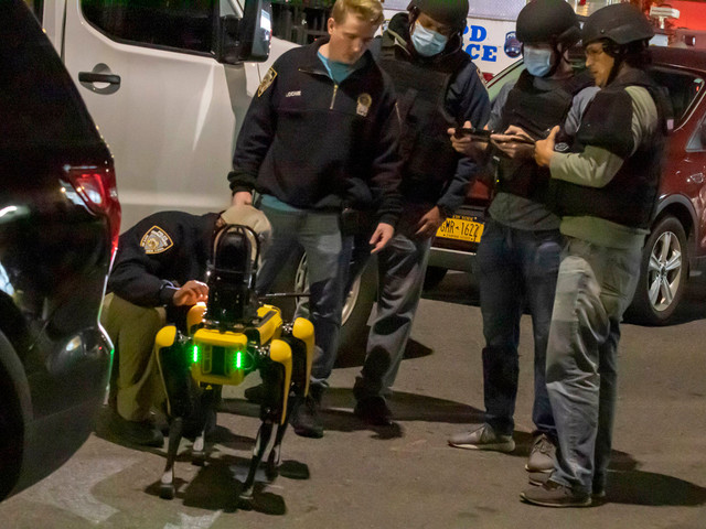 NYPD deploys robot dog after woman shot during Brooklyn parking dispute