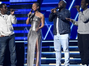 Alicia Keys & Boyz II Men Open The 2020 Grammys With Kobe Bryant Tribute 'In The House That He Built'