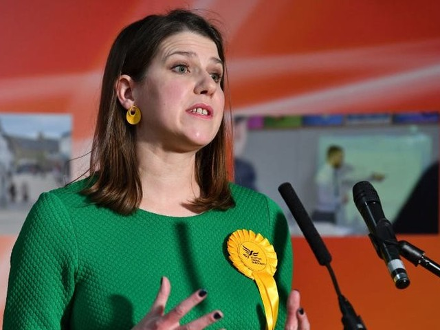 Jo Swinson resigns as Liberal Democrat leader after losing her seat in a shock general election result