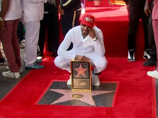 R&B/hip-hop artist Teddy Riley honored with star on Hollywood Walk of Fame