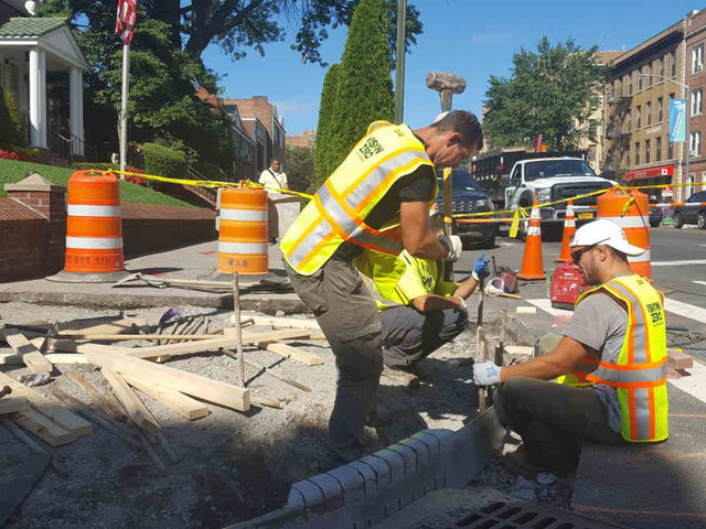 Park Slope sidewalk repairs progress following contractor's seedy corruption scheme