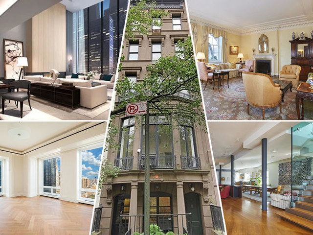 Audacious ask at 220 Central Park South tops priciest listings