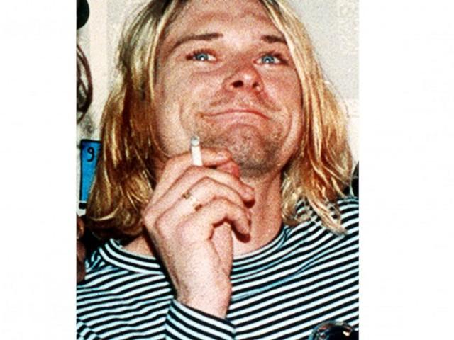 Treasure trove of rock memorabilia includes Kurt Cobain hair