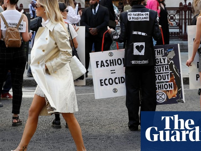 So hot it hurts: London fashion week in the age of climate activism
