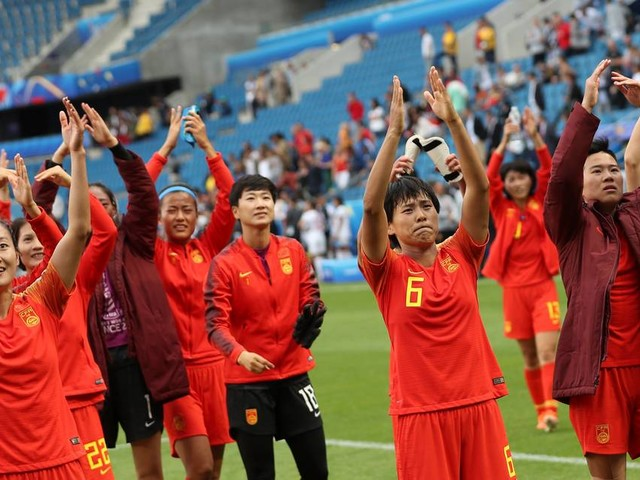 China, Spain played to a draw to finish group play. This is why it was a win for China.