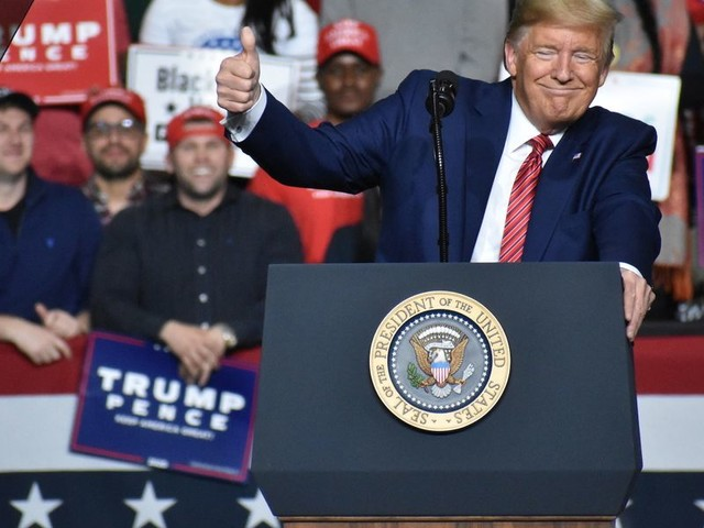 'This is their new hoax!' — Trump says Democrats are spreading misinformation about the coronavirus at South Carolina rally