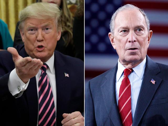 Trump says Bloomberg skips debates because he is a 'terrible speaker'