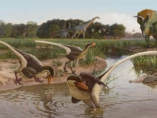 New Carnivorous Feathered Dinosaur Remains Found In New Mexico