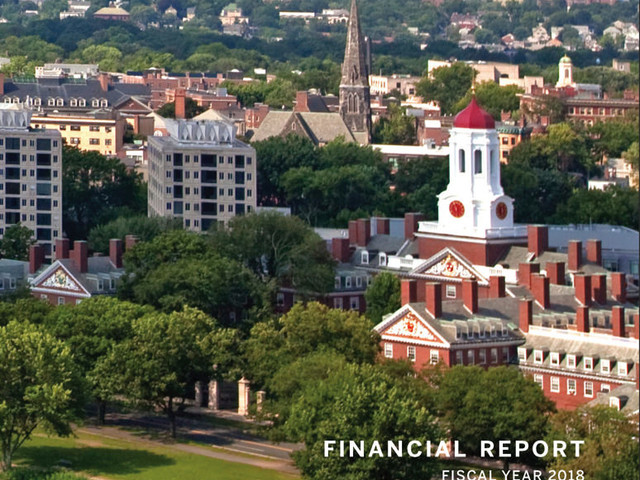 Harvard Reports a Significant Surplus