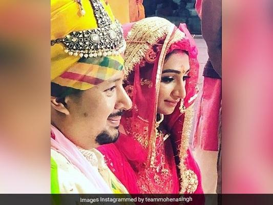 Inside TV Actress Mohena Kumari Singh And Suyesh Rawat's Wedding.See Pics