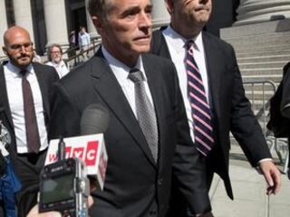 Ex-US rep's fate rests with judge in insider trading case