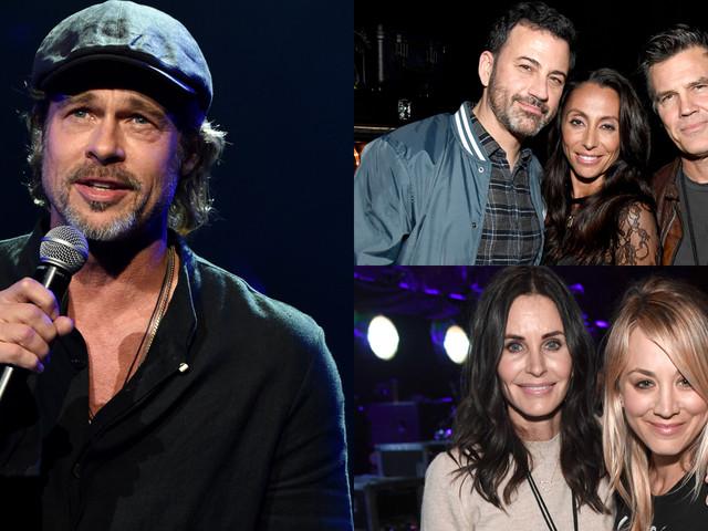 Brad Pitt, Josh Brolin, Courteney Cox & More Honor Chris Cornell at All-Star Tribute Concert!