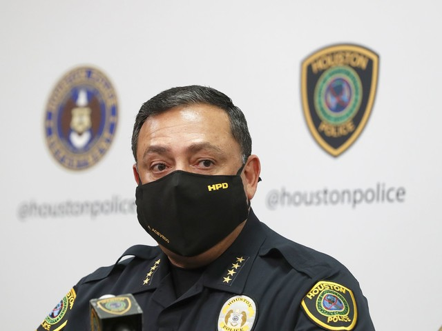 HPD officer involved in U.S. Capitol riot, Chief Acevedo says