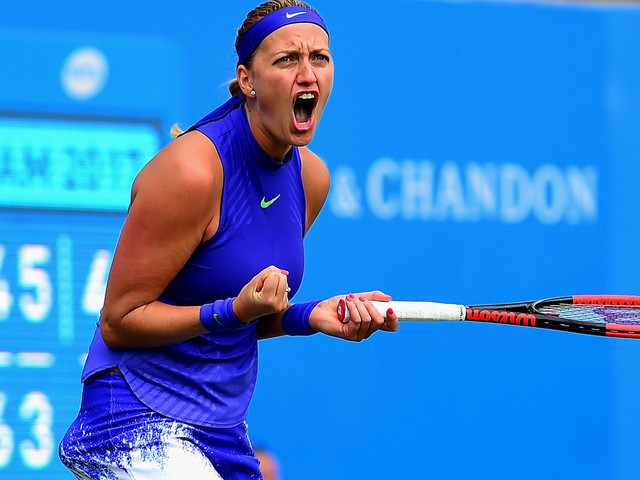 Tennis: Petra Kvitova completes comeback from knife attack with win at Aegon Classic