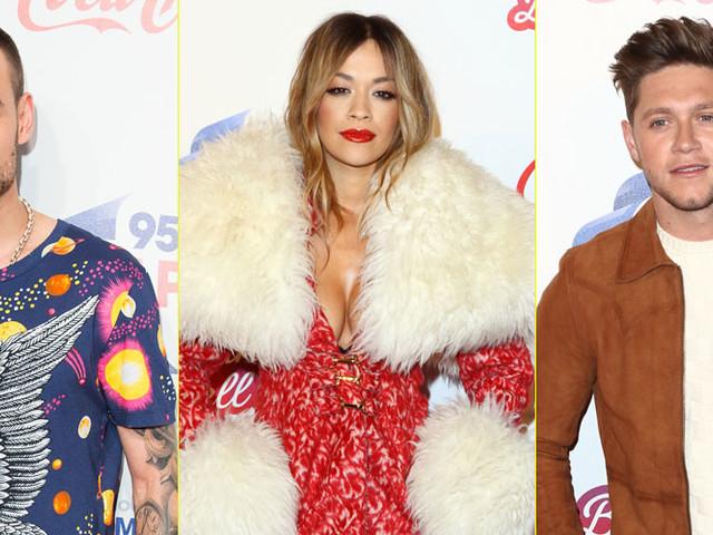 Rita Ora & Niall Horan Attend Capital Jingle Bell Ball in London
