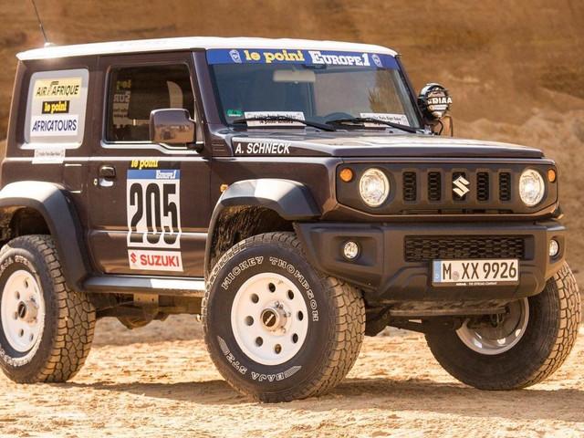 Delta 4×4 Gives 2019 Suzuki Jimny A Costly Paris-Dakar Rally Makeover