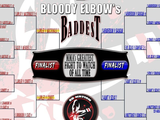 BE's Greatest MMA Fight of All Time Tournament - FINAL FOUR: #1 Lawler vs. MacDonald 2 VS. #2 Lawler vs. Condit