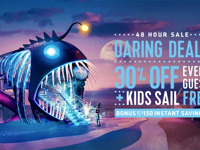 Royal Caribbean's 48-hour sale offers bonus instant savings and kids sail free