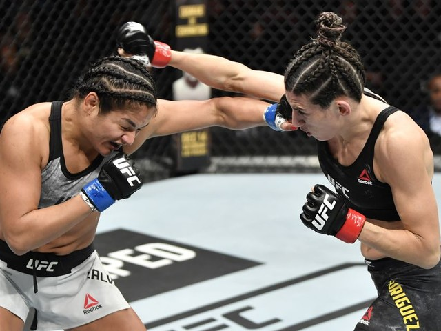 Pros react to draw between Calvillo and Rodriguez at UFC DC