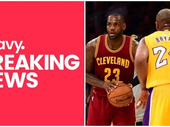 WATCH: BBC Shows Video of LeBron in Announcing Kobe's Death