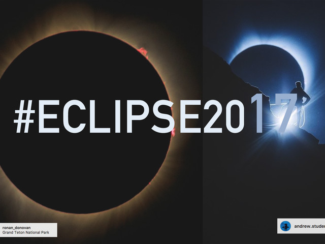 The Great American Eclipse 2017 | Some Of The Best Eclipse Shots From Around Instagram