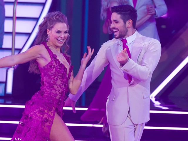 Hannah Brown Continues to Step Up Her Game on DWTS - Watch All of Her Performances