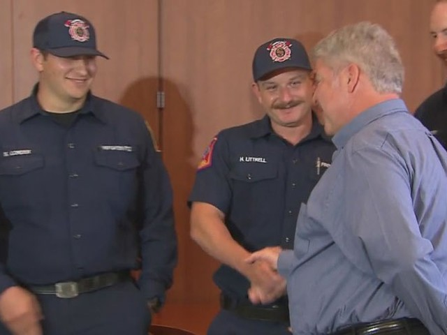 North Texas Man Thanks Southlake Police Officers Who Saved His Life