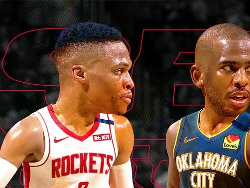 All the ways Russell Westbrook and Chris Paul are different