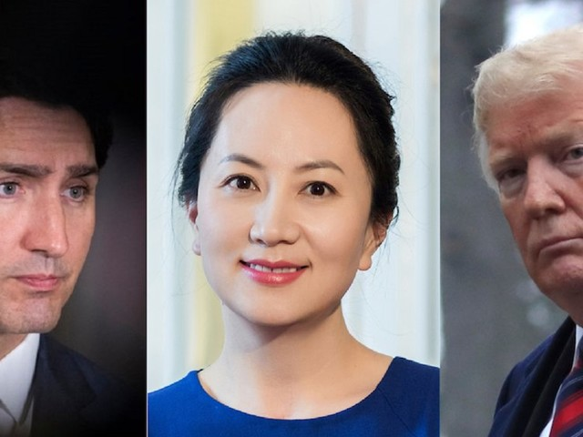 China is outraged that the US wants to take the arrested Huawei executive Meng Wanzhou off Canada's hands