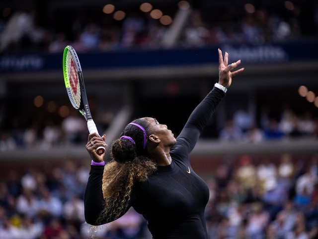Back at U.S. Open, Serena beats Maria Sharapova for 19th time in row