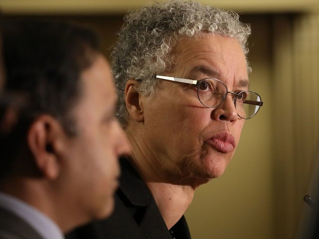Cook County Board President Toni Preckwinkle vetoes 'extraordinarily bad' plan to share coronavirus-positive addresses with first responders, a first in her tenure