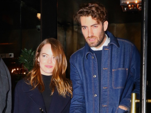 Emma Stone & Fiance Dave McCary Make First Public Appearance Since Engagement at 'SNL' After Party!
