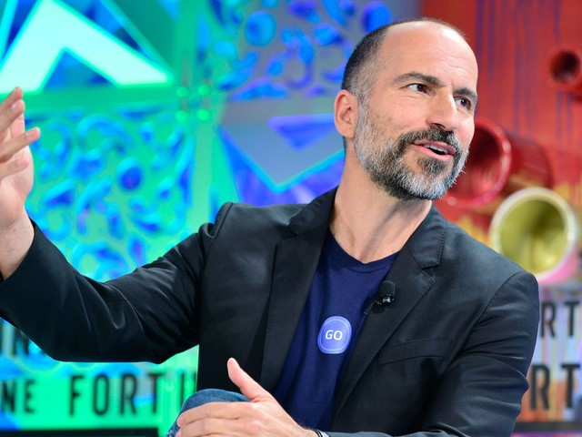 Read the email Uber's CEO sent employees about the company's $3.1 billion acquisition of a major competitor