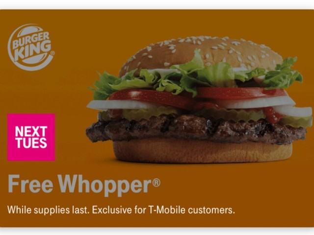 T-Mobile customers will be able to eat like kings for free yet again next Tuesday