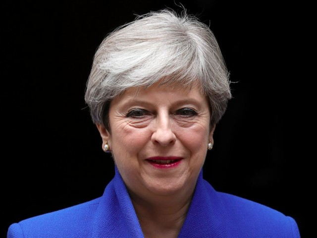 MAY TO 'ENTER NEGOTIATIONS' WITH DUP ABOUT STRIKING A GOVERNMENT DEAL