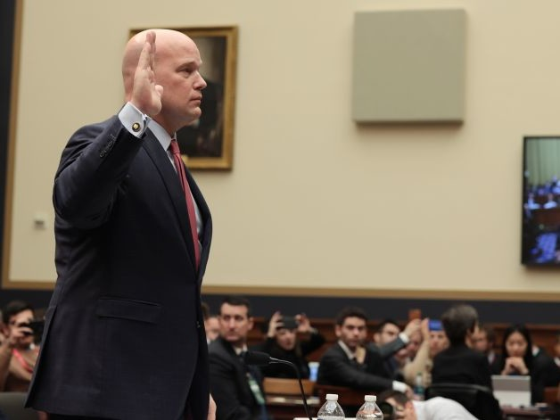 Acting AG Whitaker Faces House Grilling Over Russia Probe