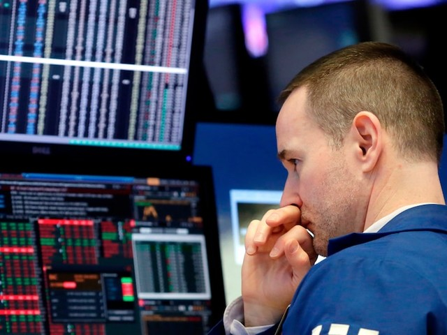 Dow slides 400 points after the US economy loses far more jobs than expected in March
