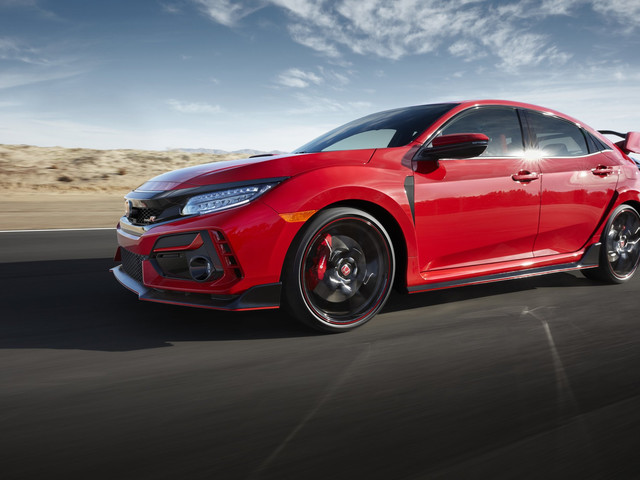 Honda's new Civic Type R is one heck of a gorgeous car