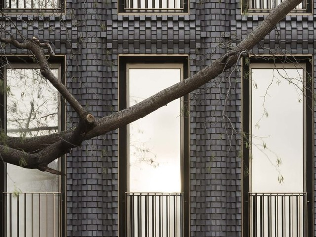 Check out this building constructed from 5,000 3D-modeled bricks