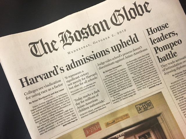 Full Report: Harvard's Use of Race in Admissions Upheld