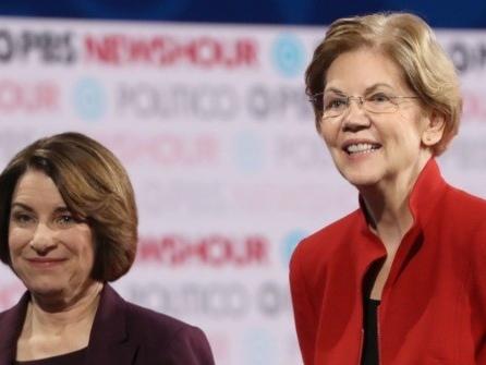 New York Times Endorses Amy Klobuchar, Elizabeth Warren for President