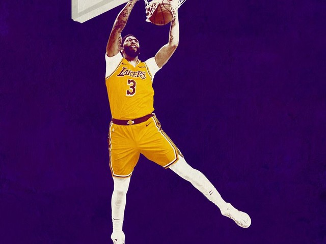 The Time Is Brow: The Lakers Run Through Anthony Davis Now