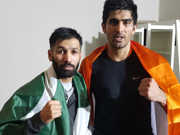Indian and Pakistani boxers in Dubai appeal for peace