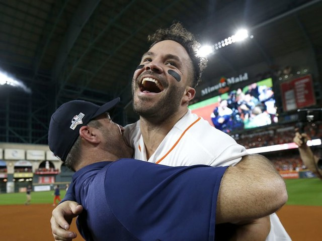 Jose Altuve's walk-off was a beautiful moment for a beautiful player