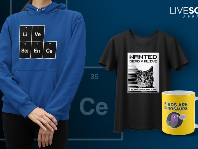 The Live Science merch store is here with hats, shirts, mugs & more!