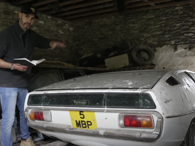 Lamborghini Espada Was Abandoned In Barn For 30 Years When Owner Disappeared