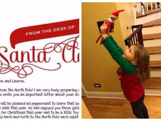 This Mom's Genius Elf on the Shelf 'Retirement' Plan Is the Sweetest Idea Yet