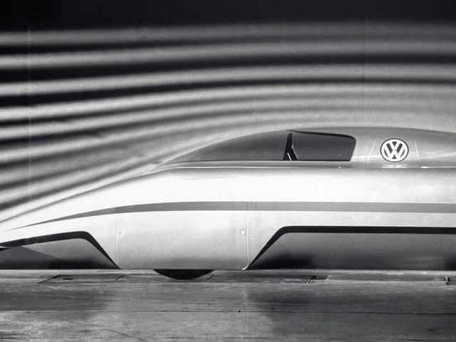 The most aerodynamic Volkswagen ever built is a strange, spaceship-looking car that stood less than 3 feet tall