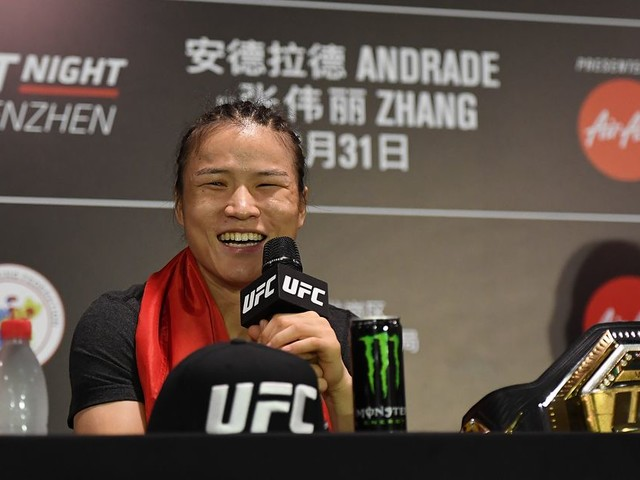 Zhang Weili moving UFC 248 camp to Vegas due to coronavirus concerns